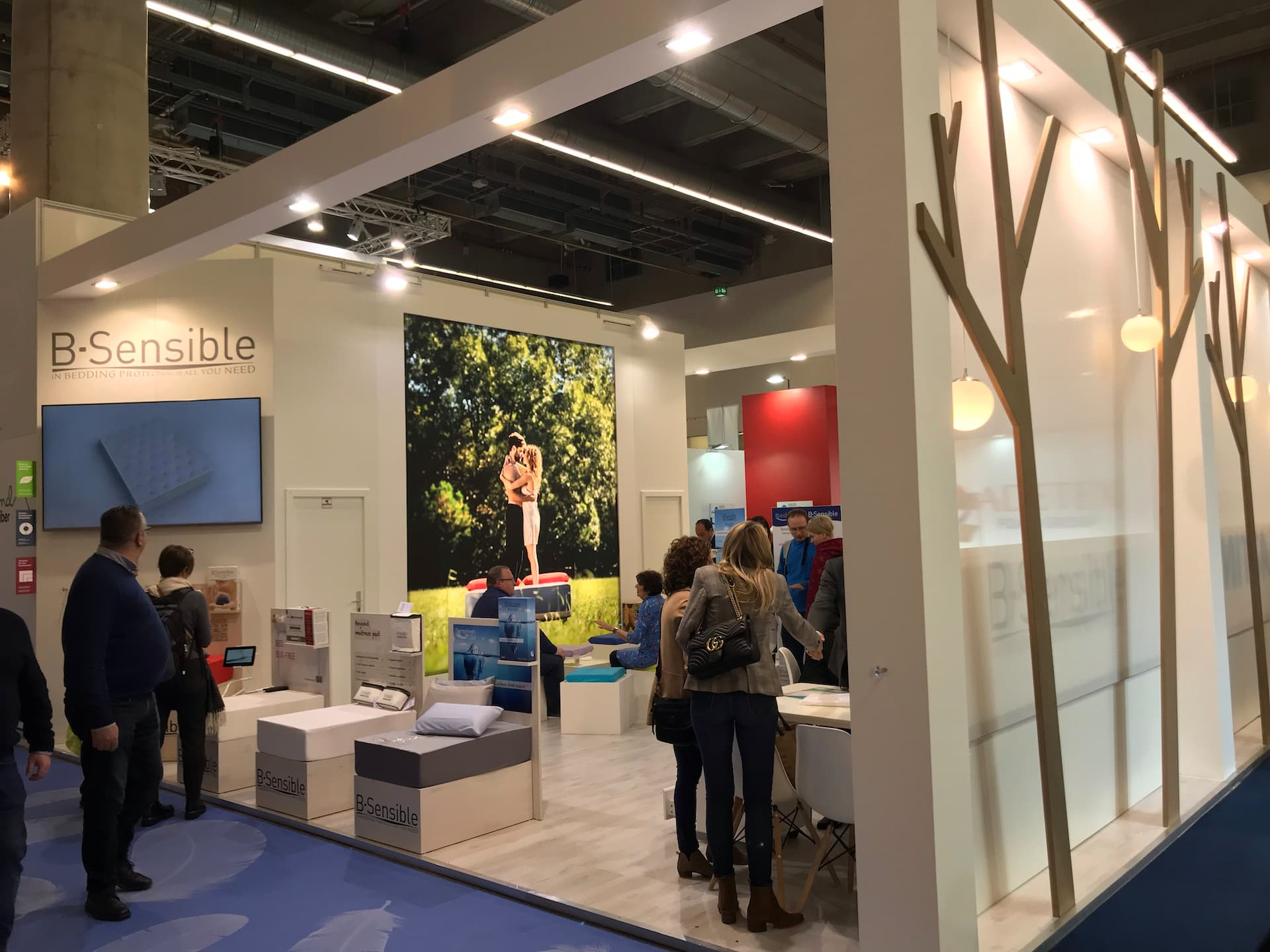 BSensible au salon Heimtextil