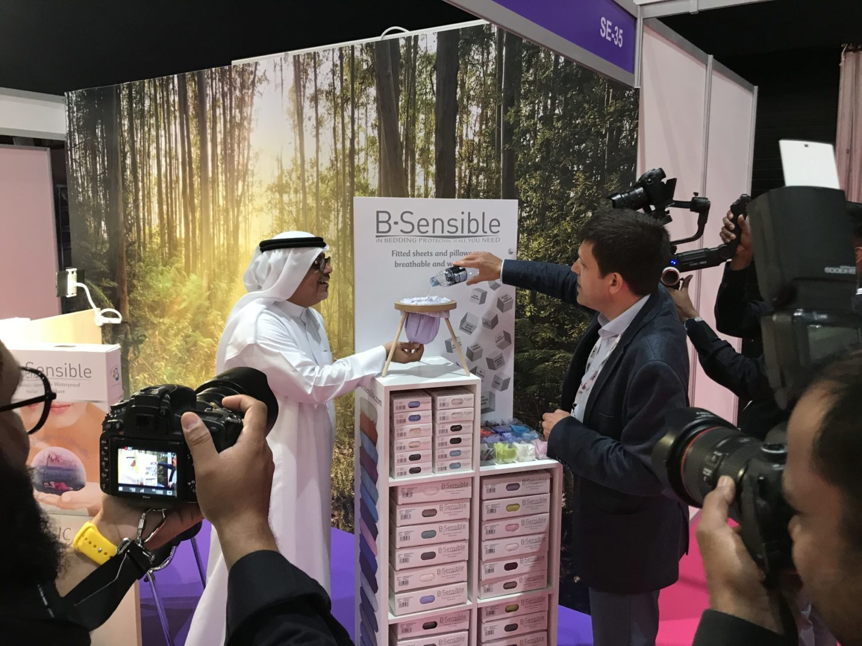 Bsensible au Salon Sleep Expo Middle East